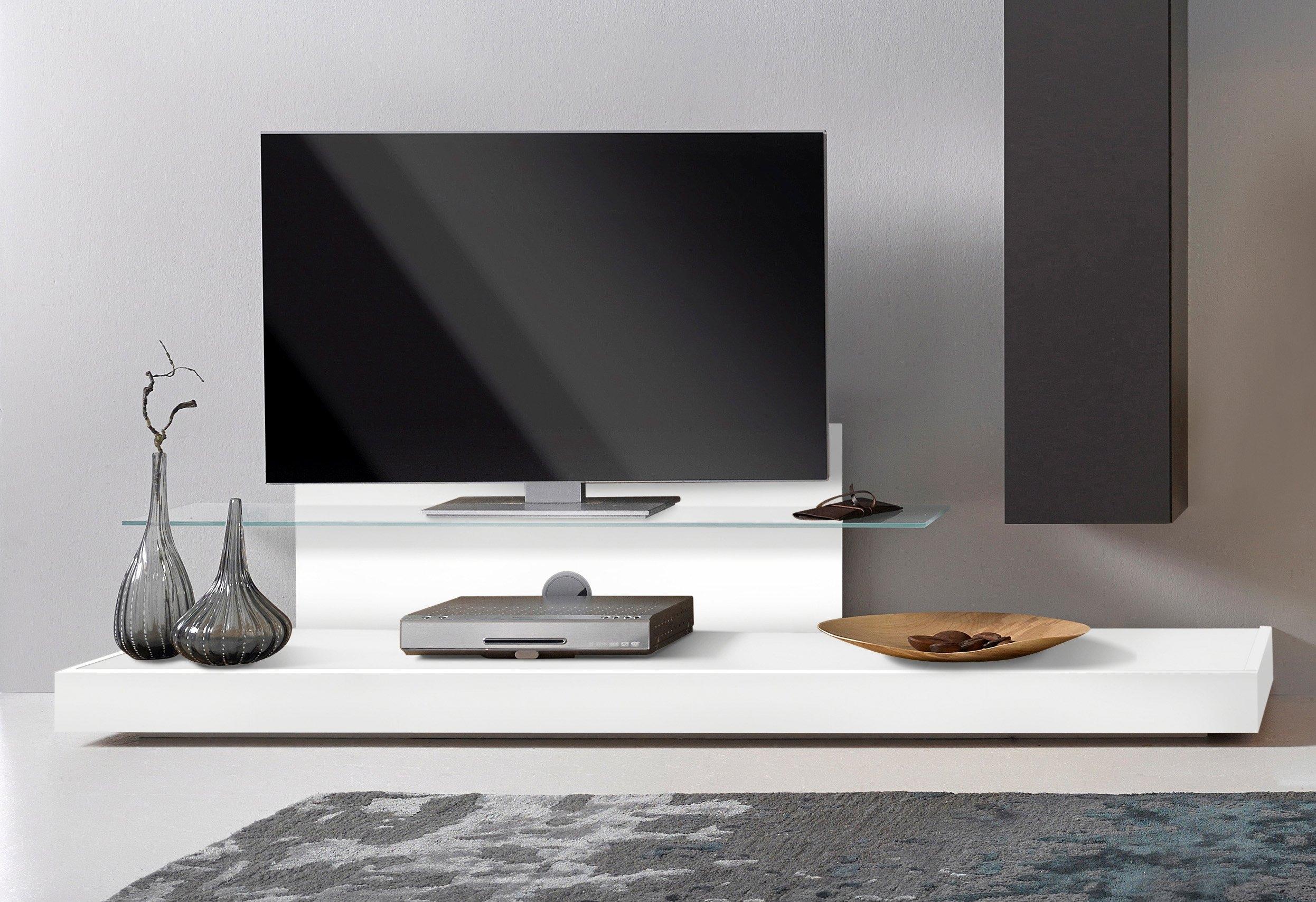 Lc tv meubel met glasplateau makkelijk gevonden otto for Tv meubel design