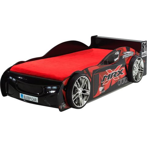 VIPACK FURNITURE Ledikant in raceauto-look