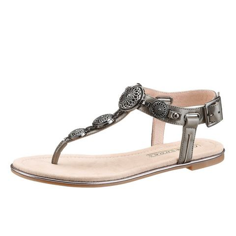 NU 10% KORTING: BUFFALO sandalen met glitterafwerking