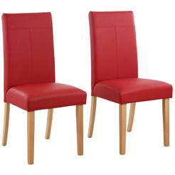 "home affaire stoel ""rubin"" rood"