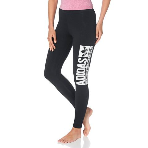ADIDAS ORIGINALS Legging met logoprint