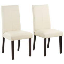 stoel »rubin« in set van 2 bruin