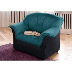 fauteuil naar keuze met binnenvering groen