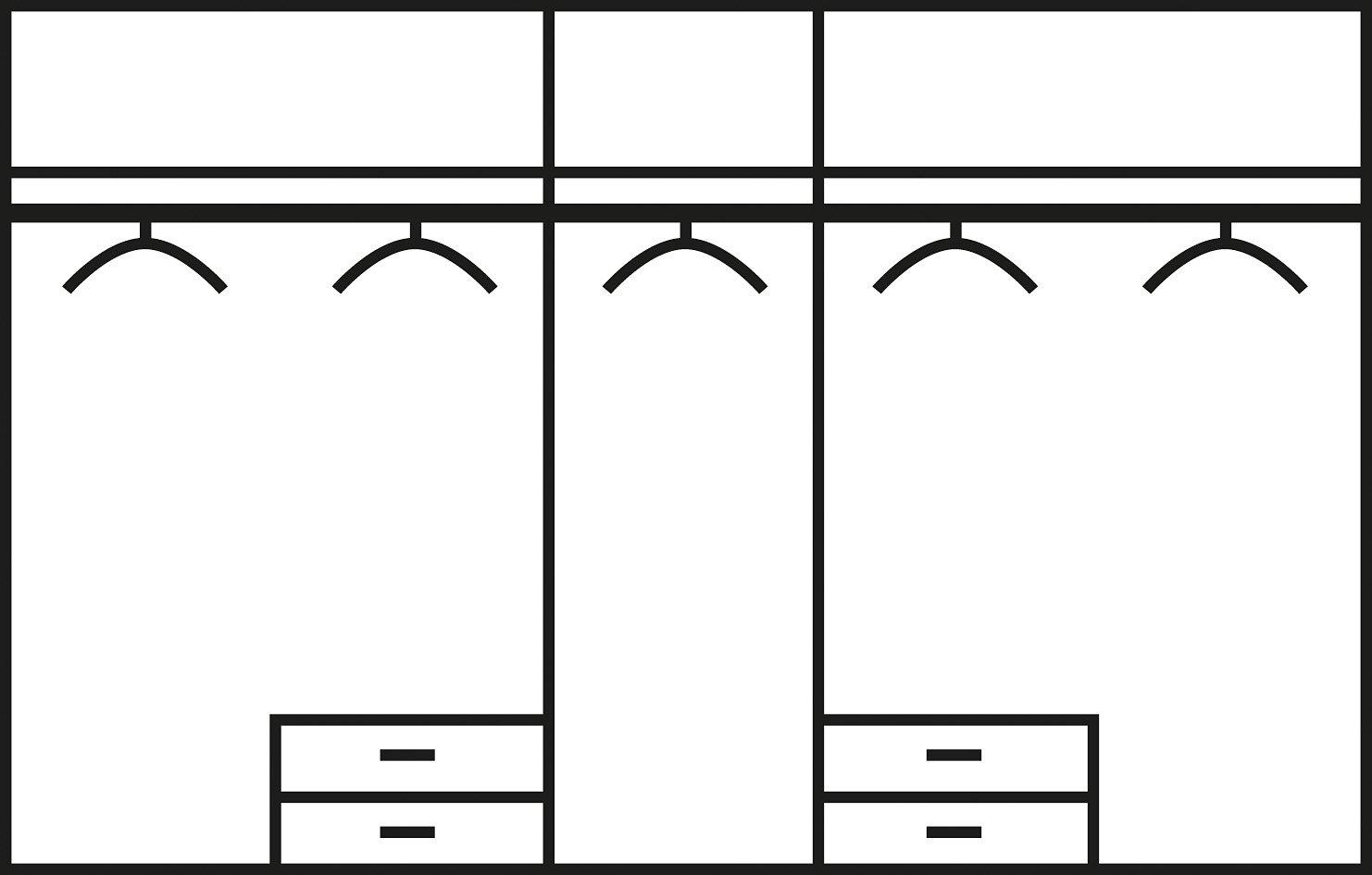Slaapkamer 4-delige voordeelset bestellen bij   OTTO