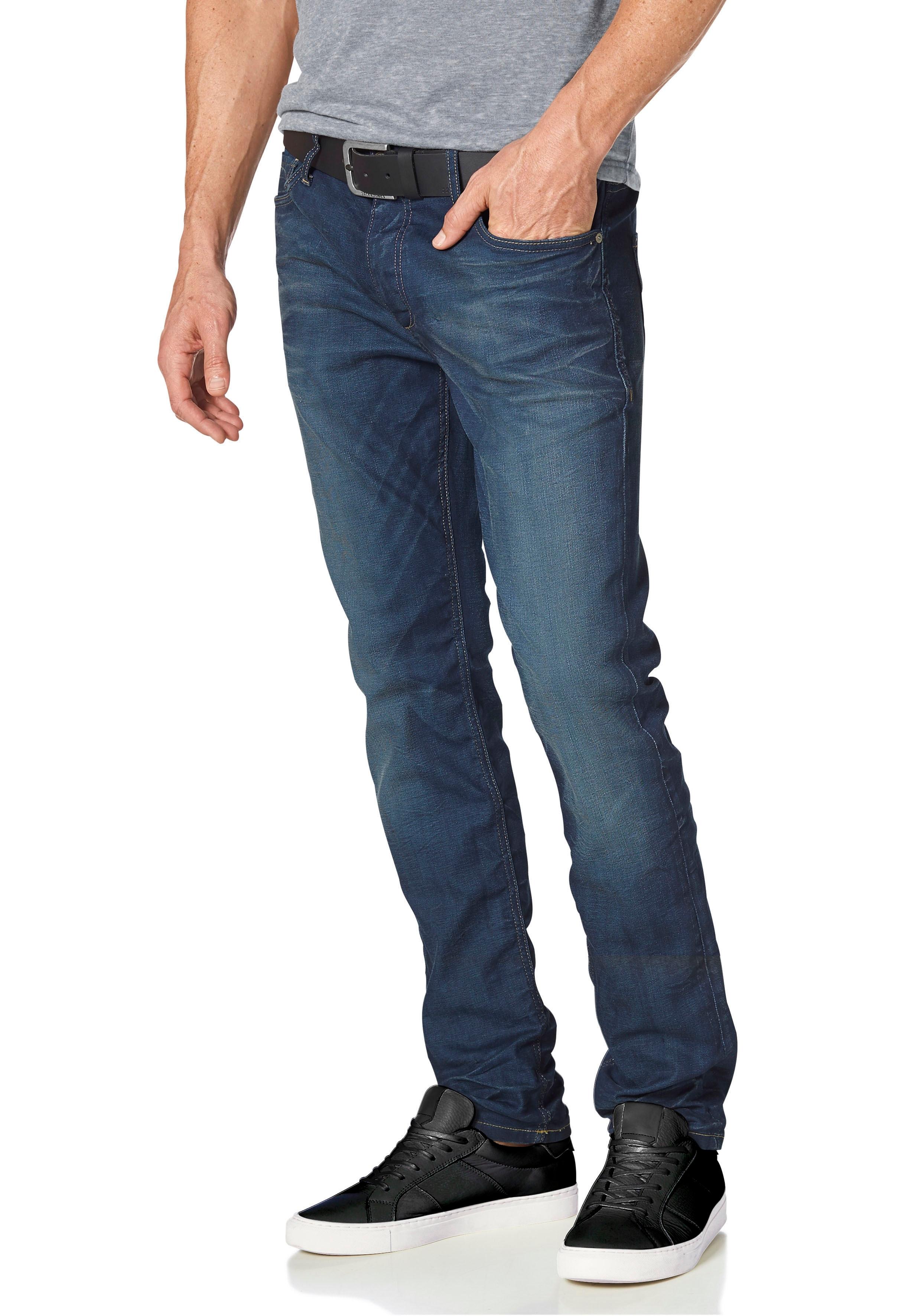 JACK & JONES Slim Fit-jeans Tim nu online kopen bij OTTO
