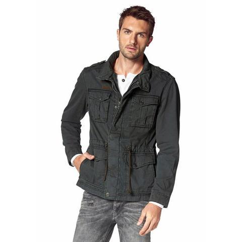 BRUNO BANANI Field-jacket van puur katoen
