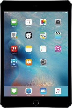 iPad mini 4 WiFi 128 GB, iOS 9,A8, 20,1 cm (7,9 inch)