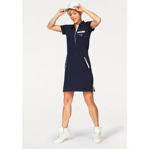 KANGAROOS Shirt-jurk met polokraag