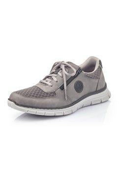 rieker sneakers met comfortabele memosoft-uitvoering grijs