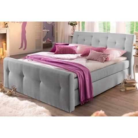 HOME AFFAIRE Boxspring met capitonnage
