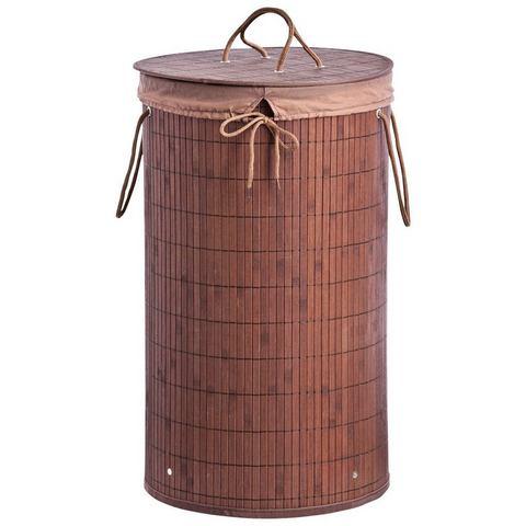 Badkameraccessoires Wasmand Bamboo 844283