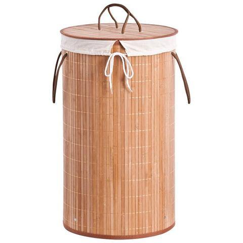 Badkameraccessoires Wasmand Bamboo 357461