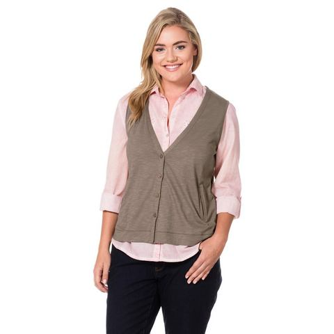 NU 20% KORTING: SHEEGO CASUAL shirtgilet