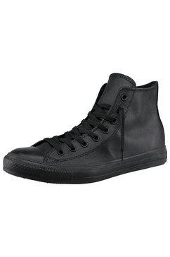 converse sneakers chuck taylor all star hi monocrome leather monochroom zwart