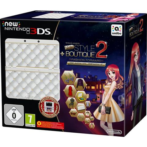 Nintendo New Nintendo 3DS, Console Style Boutique 2 (Limited Edition) (2207732)