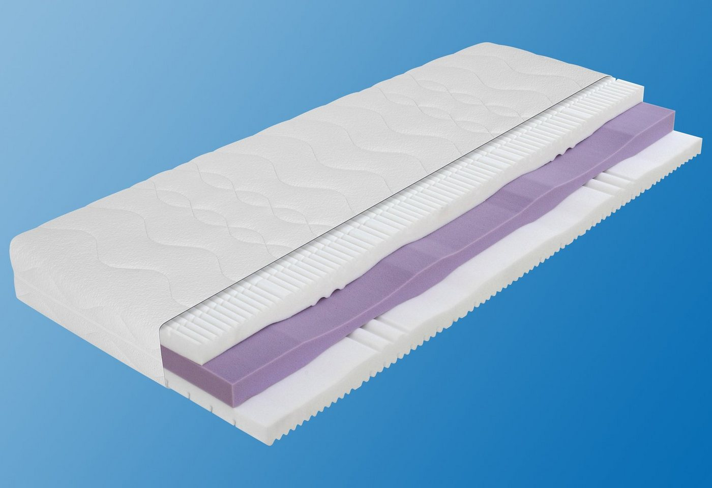 Koudschuimmatras, orthoCare KS180, ADA Premium, 21 cm dik, dichtheid: 35
