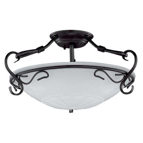 HONSEL LEUCHTEN plafondlamp, 3 fittingen