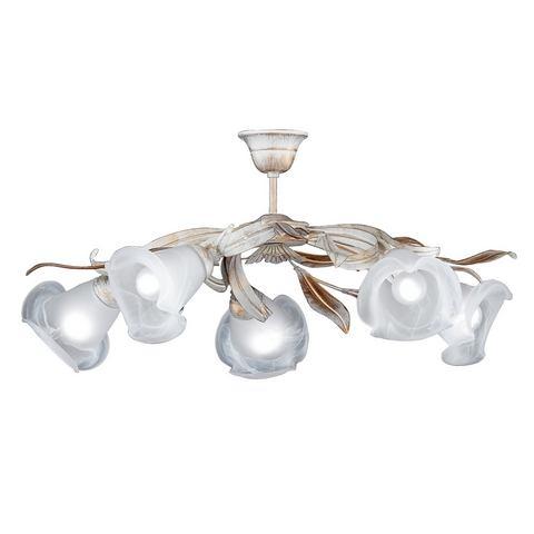 HONSEL LEUCHTEN plafondlamp, 5 fittingen, »Valencia 21245«