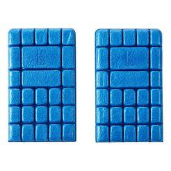 kuebler kniebeschermer blauw