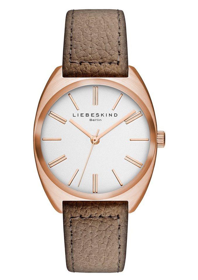 Liebeskind Berlijn horloge »NUBUK LT-0019-LQ«