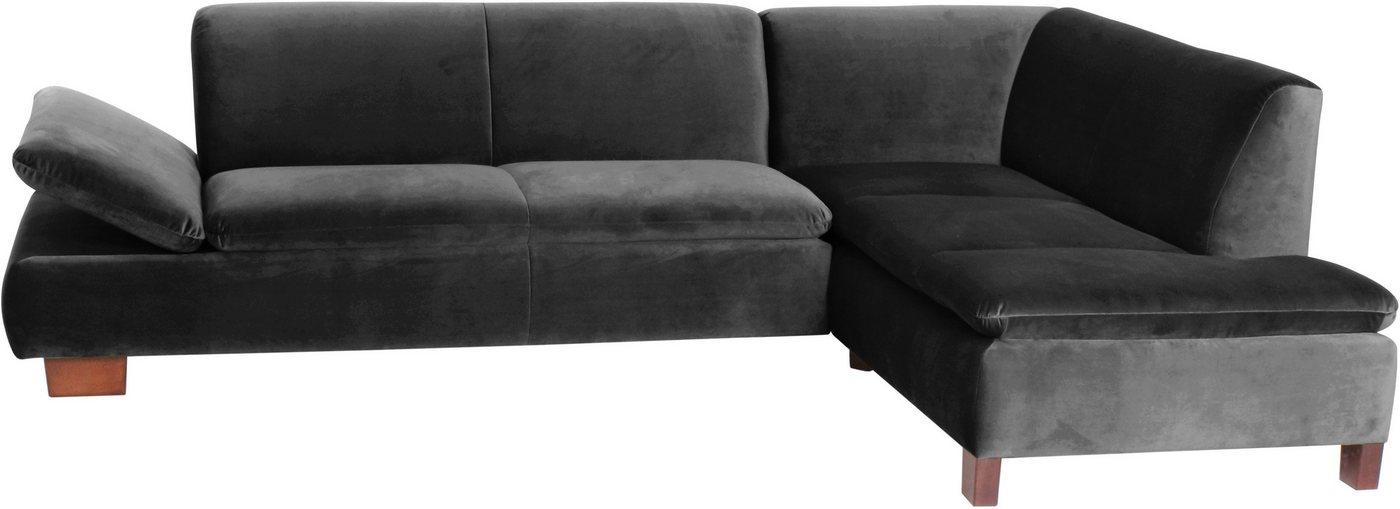 MAX WINZER® hoekbank Tampere, met verstelbare armleuning, ottomane naar keuze rechts of links