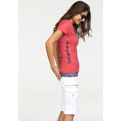 KANGAROOS T-shirt met top