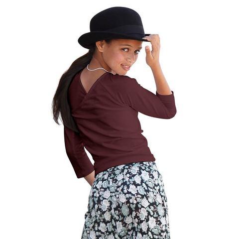 BUFFALO Shirt met 3/4-mouwen voor meisjes
