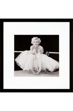 ingelijste artprint »Marilyn Monroe motief 1«, 40x40 cm