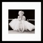 gc ingelijste artprint »marilyn monroe motief 1«, 40x40 cm zwart