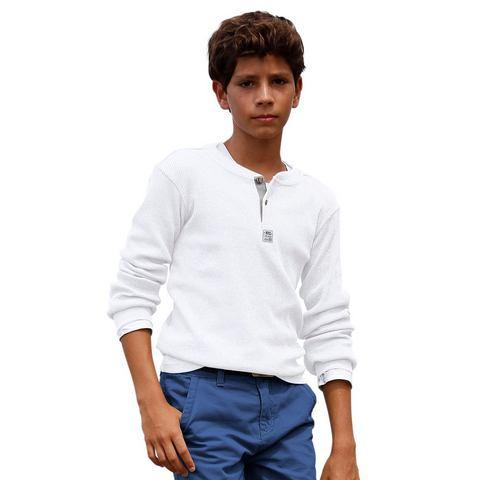 CFL Shirt met lange mouwen en knoopsluiting