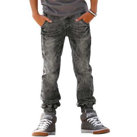 ARIZONA Sweat-broek in jeans-look