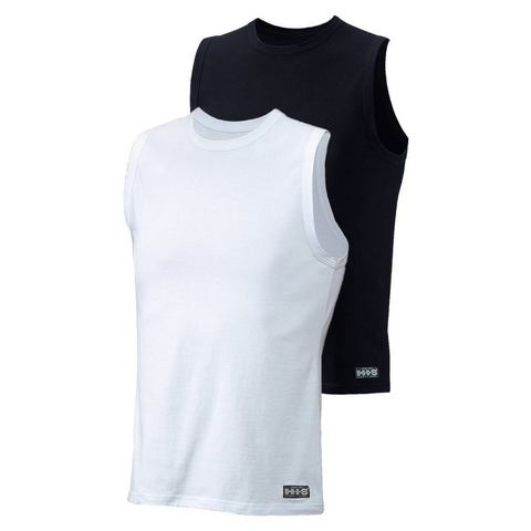 Muscleshirt, set van 2, H.I.S