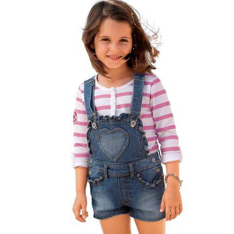 ARIZONA Jeans-tuinshort voor meisjes