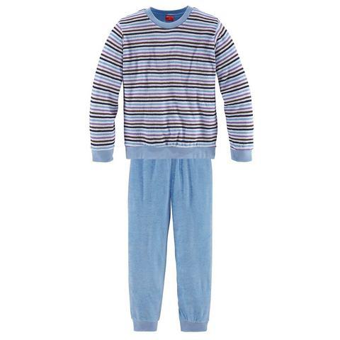 Pyjama for girls met strepen