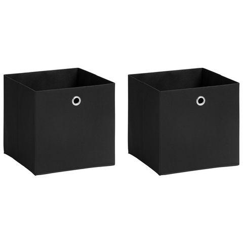Badkamerseries SCHILDMEYER Opvouwbare doos Box set van 2 206146