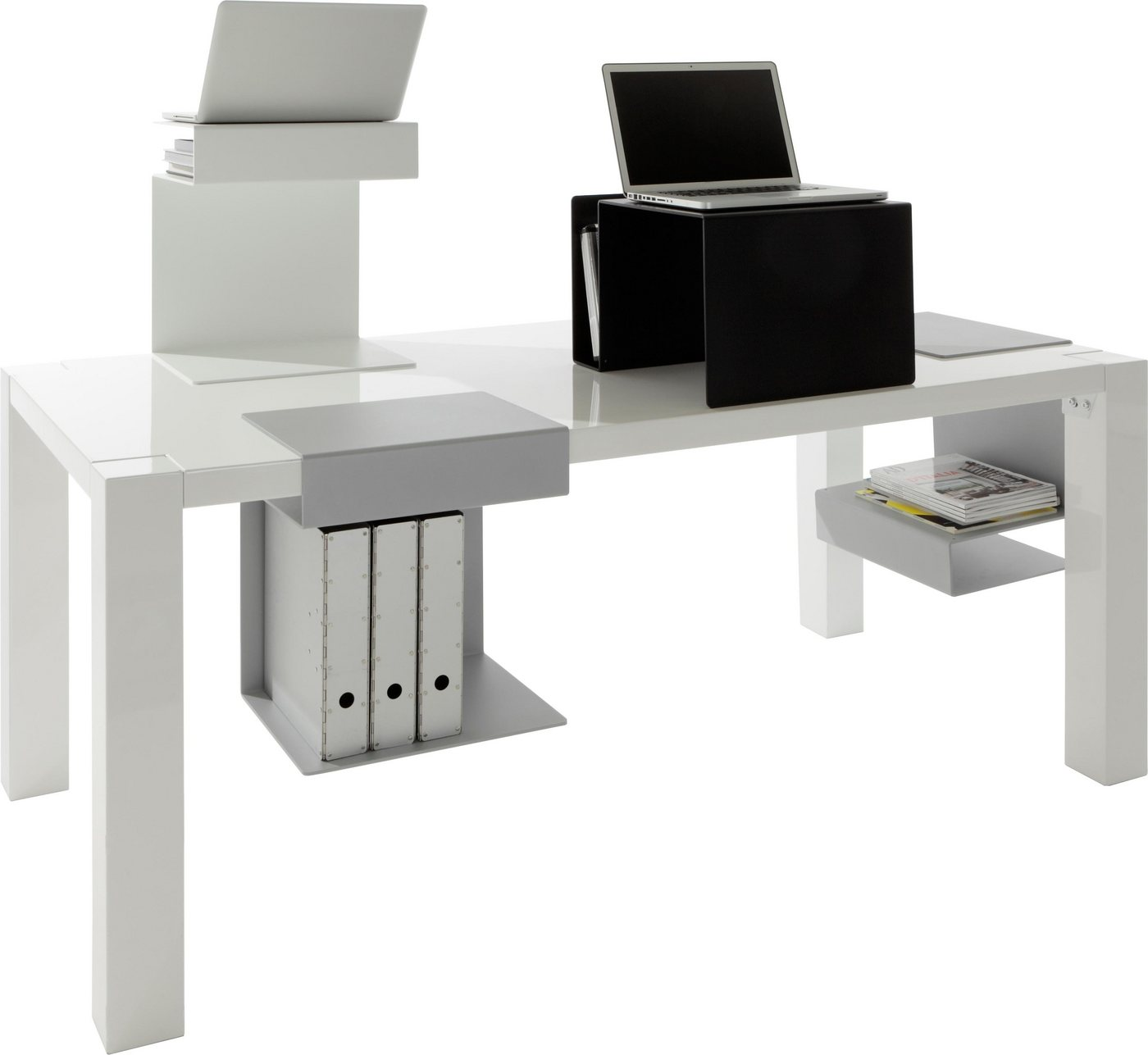 emform® bijzettafeltje HUK met leuk design van aluminium