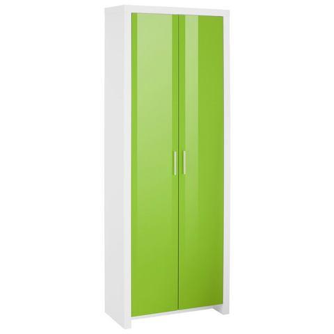 HMW kast Space groen slaapkamer garderobekast 103