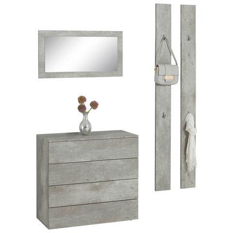 Complete garderobes Halmeubelset Rova 3-delig 768477