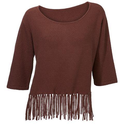 NU 10% KORTING: Pullover met ronde hals