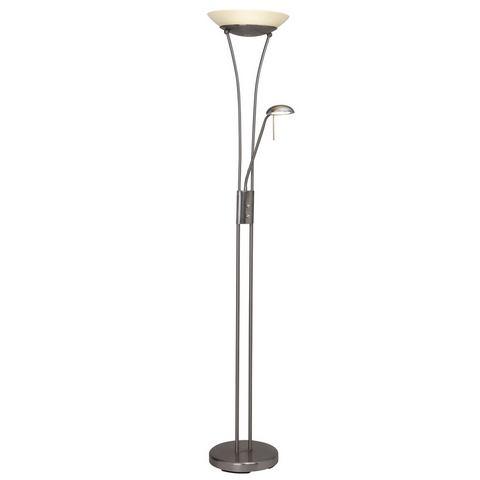 Lampen BRILLIANT Staande lamp met uplight met console 445171