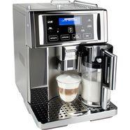 delonghi volautomatisch koffiezetapparaat primadonna avant esam 6750, edelstaal zilver