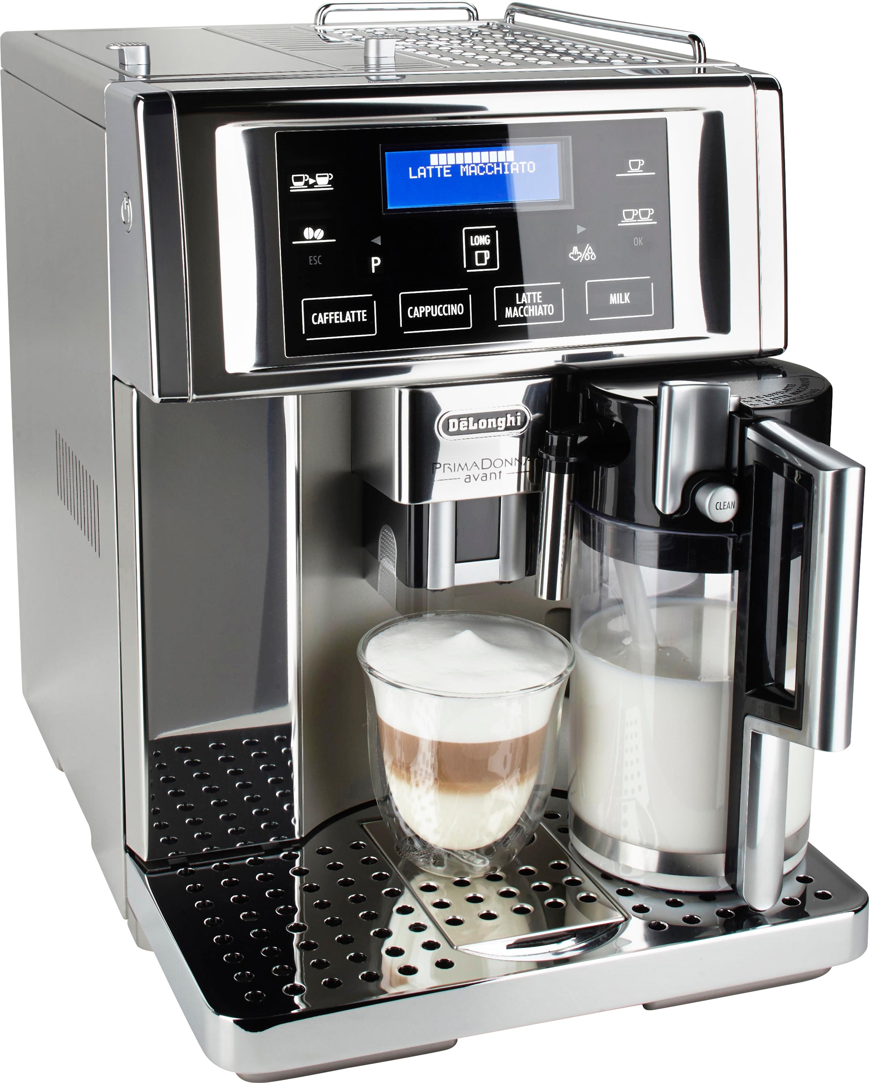 Op zoek naar een De'longhi Delonghi volautomatisch koffiezetapparaat PrimaDonna Avant ESAM 6750, edelstaal? Koop online bij OTTO