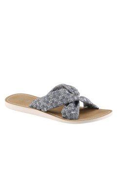 Slippers met borduursel