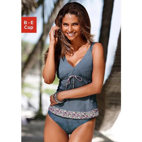 S.OLIVER Beugeltankini in jeans-look