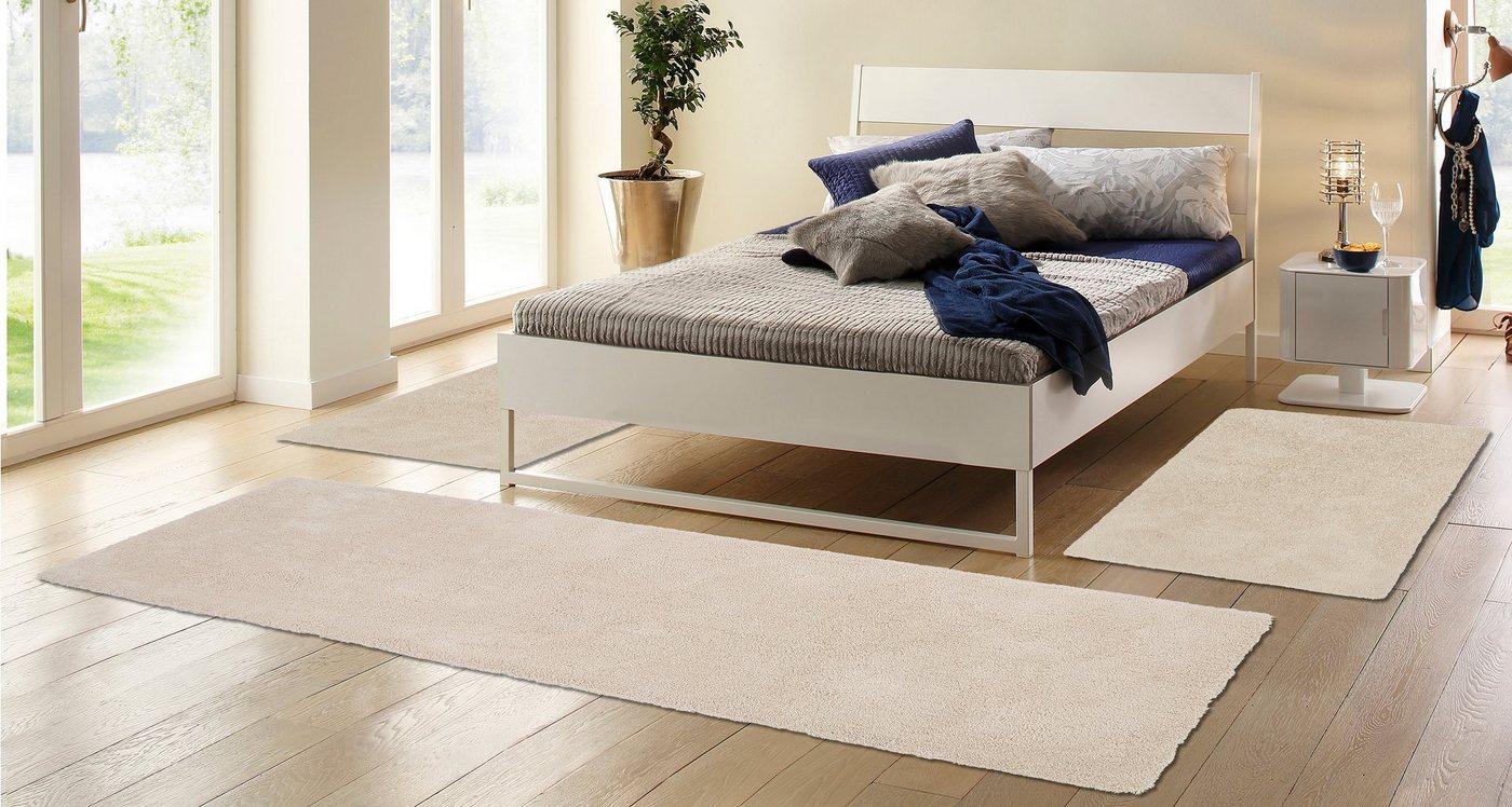 Hoogpolige slaapkamerset, 3-delig, MY HOME SELECTION, Magong, hoogte 25 mm, handgetuft