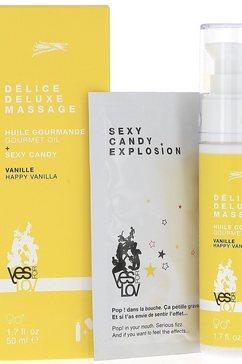 YESforLOV sensuele massageset »Delice Deluxe Massage«