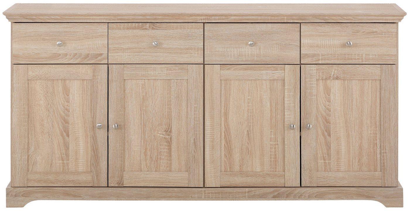 Home affaire dressoir 'Anna', breedte 161 cm (4-deurs)