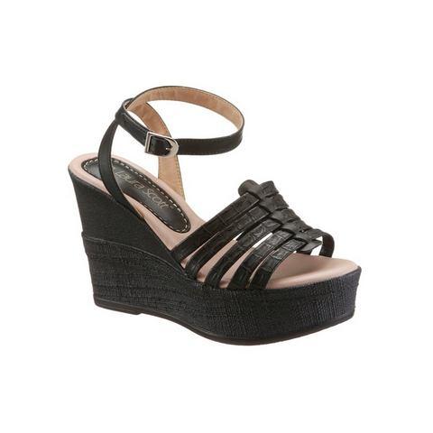 Schoen: LAURA SCOTT Highheel-sandaaltjes met sleehak