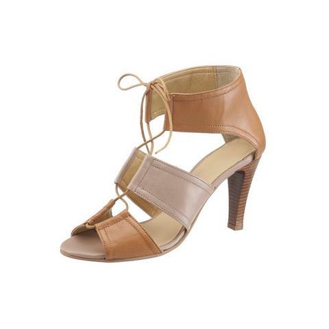 Schoen: LAURA SCOTT sandaaltjes met vetersluiting