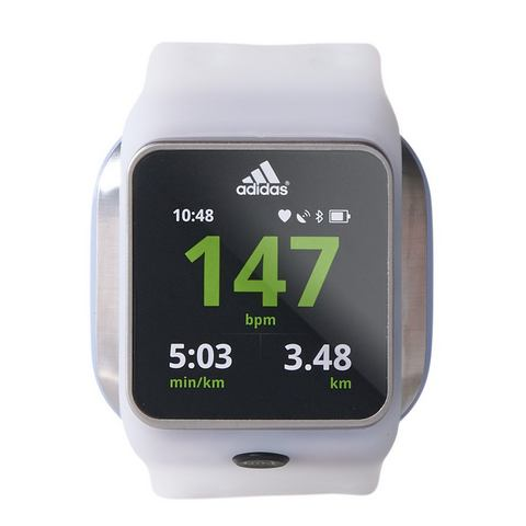 ADIDAS PERFORMANCE hartslagmeter smartwatch, wit,